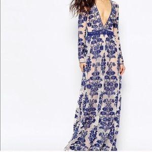 For love and lemons Temecula Maxi Dress